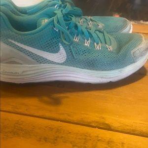 Tiffany Blue Ombre Nike Free Runs
